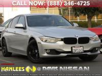 Options:  2015 Bmw 3 Series 328I|Silver|Check Out This