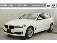 Certified. 2015 BMW 3 Series 328i xDrive Gran Turismo