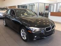 Black 2015 BMW 3 Series 328i xDrive AWD 8-Speed