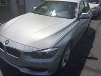 Recent Arrival! 2015 Glacier Silver Metallic BMW 3