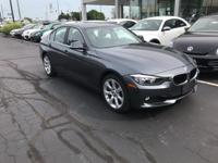 Recent Arrival! 2015 Mineral Gray Metallic BMW 3 Series