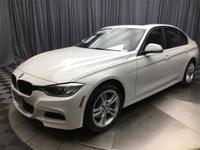 CARFAX One-Owner. Clean CARFAX. Alpine White 2015 BMW 3