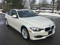 Low mileage 2015 BMW 328i xDrive in Mineral White