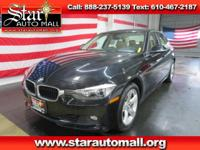 New Price! CARFAX One-Owner. Black 2015 BMW 3 Series