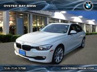 CARFAX 1-Owner. 320i xDrive trim, Alpine White exterior