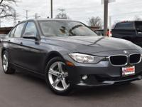 CARFAX One-Owner. Clean CARFAX. Gray 2015 BMW 3 Series