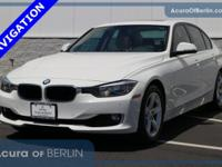 2015 BMW 3 Series 328i White *NAVIGATION*, *SUNROOF*,