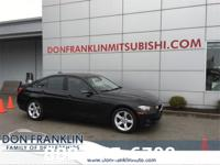 CARFAX One-Owner. Clean CARFAX. Black 2015 BMW 3 Series