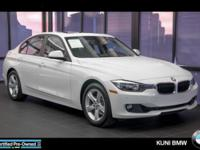 328i xDrive trim. EPA 33 MPG Hwy/22 MPG City! CARFAX