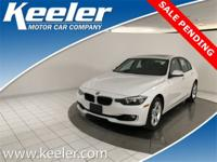 Certified. CARFAX One-Owner. 2015 BMW 3 Series Keeler