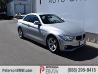 Top up or down, our Carfax One Owner 2015 BMW 428i