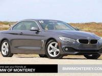 428i trim. CARFAX 1-Owner, BMW Certified, ONLY 32,914