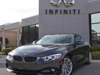2015 BMW 4 Series 428i, Manufacturer Warranty, Only