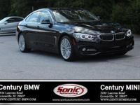 Boasts 34 Highway MPG and 23 City MPG! This BMW 4