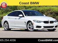 Options:  2015 Bmw 4 Series 428I Gran Coupe|White|The