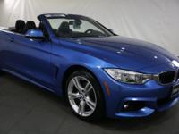 New Price! 2015 BMW 4 Series Estoril Blue Metallic AWD