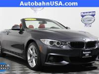 Mineral Gray Metallic 2015 BMW 4 Series 428i xDrive AWD