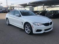 We are excited to offer this 2015 BMW 4 Series. This