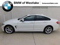 One owner, clean CarFax, 428i xDrive Gran Coupe