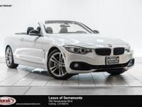 Boasts 31 Highway MPG and 20 City MPG! This BMW 4