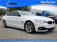New Price! This 2015 BMW 4 Series 435i in Alpine White