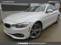 CARFAX 1-Owner, ONLY 12,556 Miles! 435i trim, Mineral