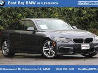 Options:  2015 Bmw 4 Series 435I|Mineral Gray