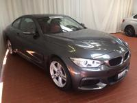 How inviting is this gorgeous, one-owner 2015 BMW 4