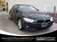 CLEAN CAR FAX, ONE OWNER, BMW CERTIFIED, NAVIGATION,