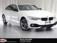 This 2015 BMW 435i is a One Owner vehicle with a Clean