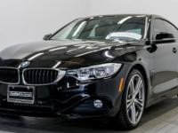 New Price! Clean CARFAX. Certified. Black 2015 BMW 4