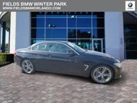 EPA 31 MPG Hwy/20 MPG City! BMW Certified, CARFAX