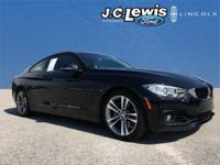 CARFAX One-Owner. Clean CARFAX. Black 2015 BMW 4 Series