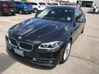 We are excited to offer this 2015 BMW 5 Series. Drive