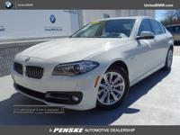 CARFAX 1-Owner, BMW Certified, LOW MILES - 14,405! 528i