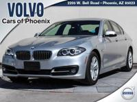 2015 BMW 5 Series 528i Space Gray Metallic 2.0L I4