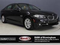 This Certified Pre-Owned 2015 BMW 528i comes complete