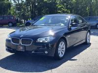 CARFAX One-Owner. Clean CARFAX. 2015 BMW 5 Series 528i