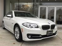 Low mileage 2015 BMW 528i xDrive in Mineral White