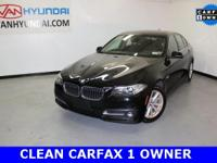 Priced below KBB Fair Purchase Price!AWD. 2015 BMW 5