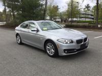 2015 BMW 528i xDrive in Glacier Silver Metallic and