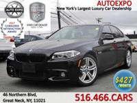 This luxurious 2015 BMW 535D M Sport is equipped with a