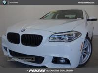 CARFAX 1-Owner, BMW Certified, ONLY 27,677 Miles! 535i