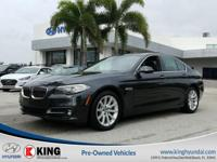 2015 BMW 535I 4-DOOR SEDAN EDITION with a 3.0L I6 F