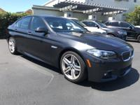 Recent Arrival! 2015 BMW 5 Series 535i CARFAX