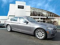 This Economy Certified 2015 BMW 5 Series 535i xDrive