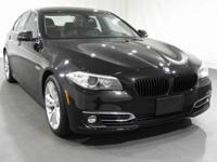 2015 BMW 5 Series 535i xDrive  in Carbon Black