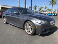 New Price! 2015 BMW 5 Series 550i CARFAX One-Owner.