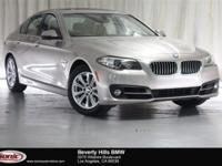 This Certified Pre-Owned 2015 BMW 528i is a One Owner