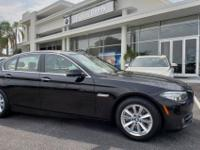 EPA 34 MPG Hwy/23 MPG City! CARFAX 1-Owner, BMW